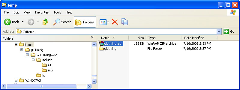 Only Three Of The Files In Various Subdirectories Are Needed Each Should Be Put A Subdirectory With Other Its Type